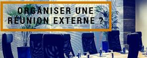 Organiser une réunion externe