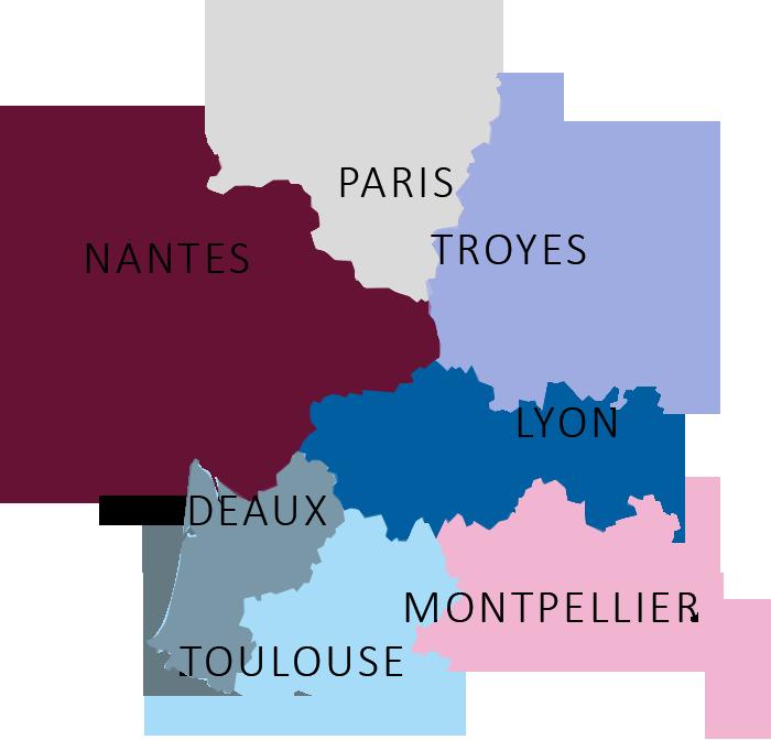 Nos Bureaux à Paris et en Région